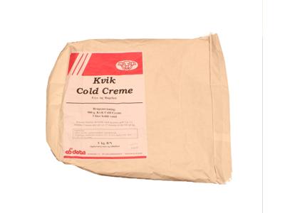 Koldcreme Kvik á 5 kg
