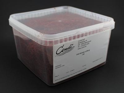 Chili Strimler á 250 gr