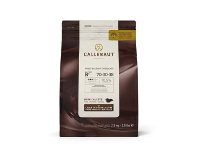 Callebaut Mørk Chokolade 70% 2,5 kg