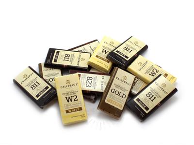 Pladechokolade Callebaut Blandet 60 stk
