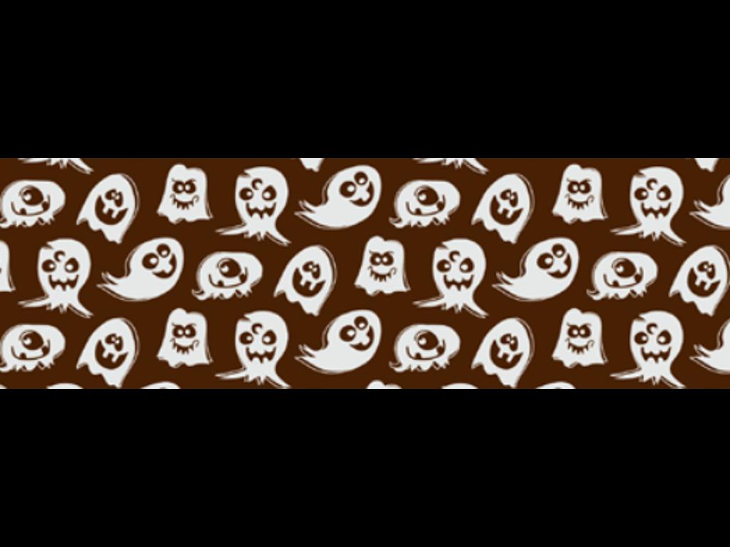 Chokoladefolie Ghosties 30 ark
