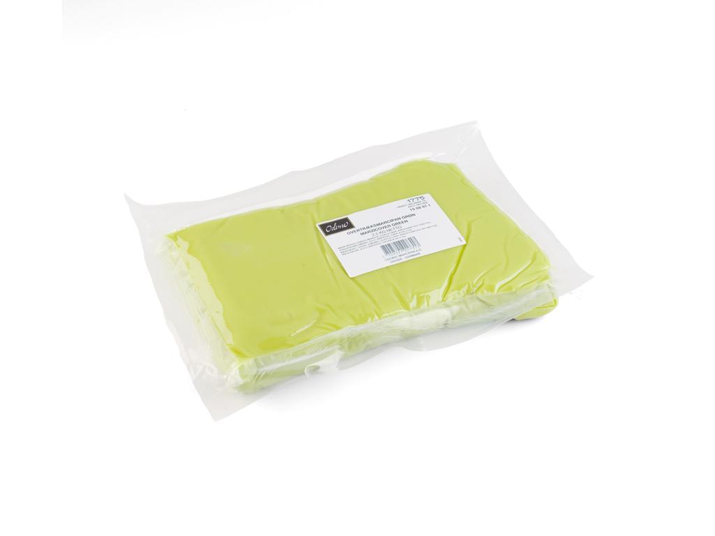 Overtræksmarcipan Grøn á 2,5 kg