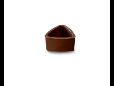 Chokoladeskal trekant mørk á 672 stk