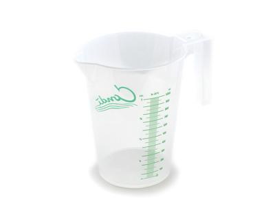 Målebæger i plast 1 liter