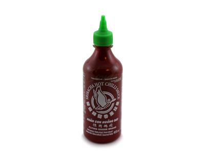 Sriracha Chilisauce stærk 455 ml Grønt låg