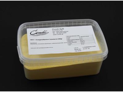 Orangesaftpulver frysetørret 500gr
