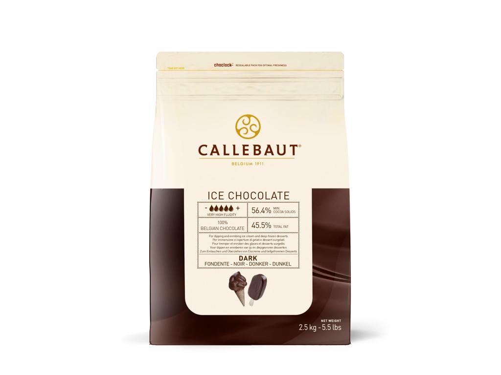 Mørk Chokolade til Is overtræk 2,5 kg