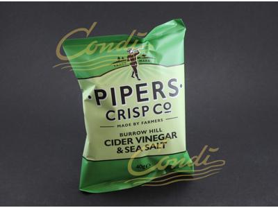 Chips Burrow hill Cider/Vinegar 8x150 gram