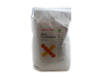 Glutenfri Lyst Brød á 5 kg Øko