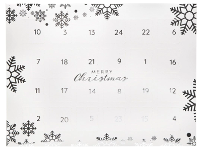 Julekalender Snowflake 1 stk