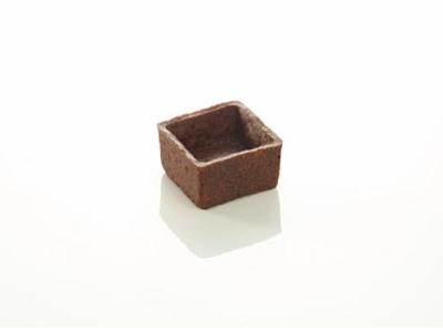 Mørdejsskal smør TRENDY firk 3,5 cm choko, 96 stk