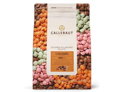 Callebaut karamel overtræk perler 2,5 kg