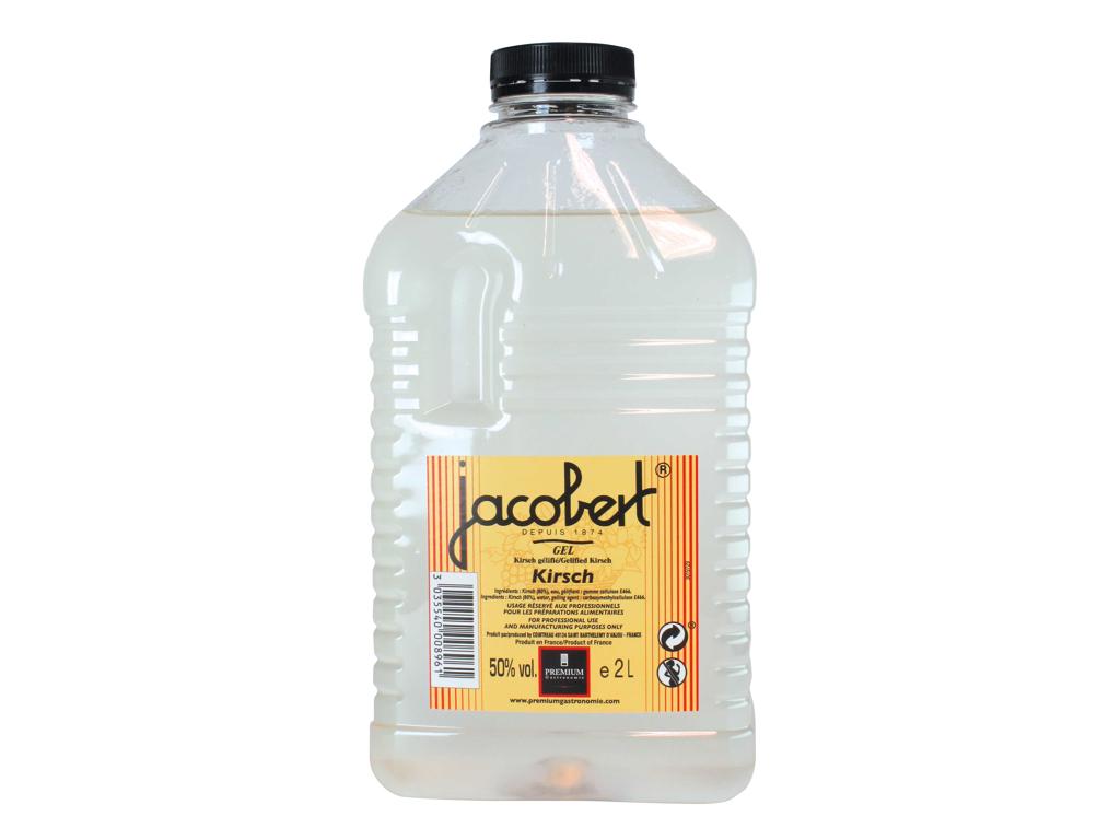 Kirsch Jacobert geleficeret 50% vol. á 2 liter