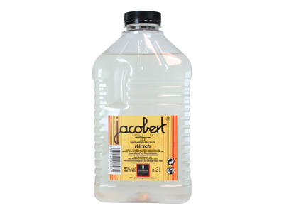 Kirsch Jacobert geleficeret 50% vol. á 2 liter