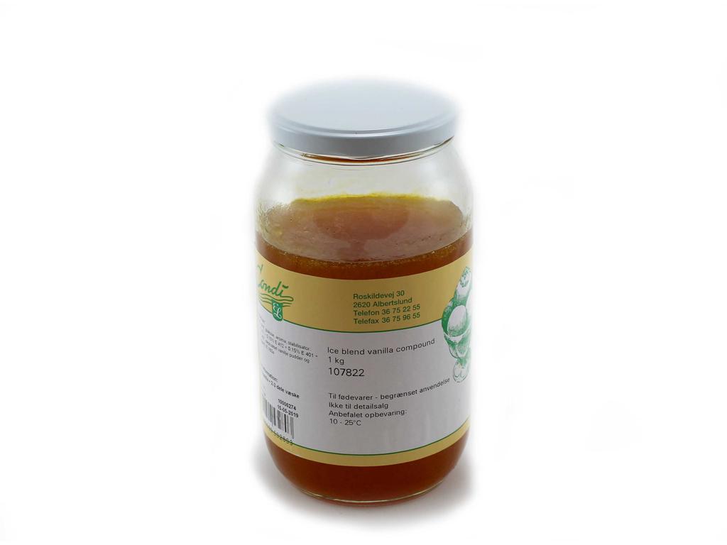 RESTSALG Ispasta Vanille à 1,2 kg