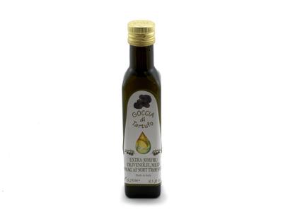Olivenolie Goccia Umbra med sorte trøfler