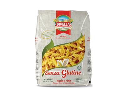 Pastaskruer Fusilli Glutenfri 400 gr