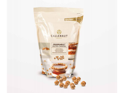 Callebaut Chokoladecrisp salt karamel á 800 gr