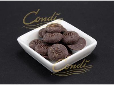 Mørk Chokolade Piura Porcelana 75% á 2 kg Øko