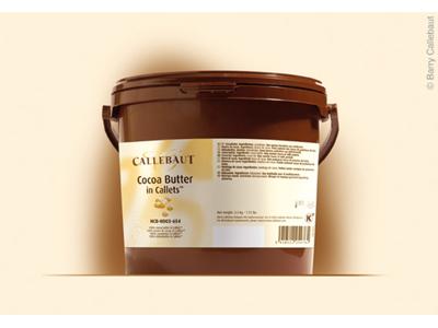 Cacaosmør Perler á 3 kg.