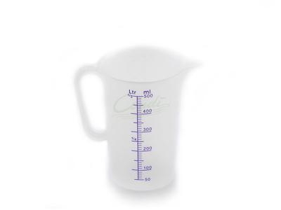 Målebæger i plast 0,5 liter
