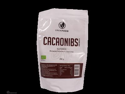 Cacao nibs med Yaconsirup 250gr øko