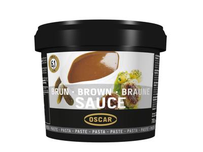 Oscar brun sauce pasta 700 gr