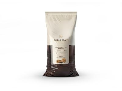 Mørk Chokolade Bagefast 49% á 10 kg L