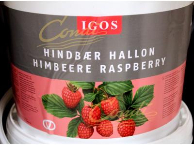 Hindbærmarmelade bagefast á 15 kg