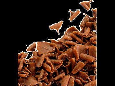Chokoladespåner Fløde á 2,5 kg Mini blo
