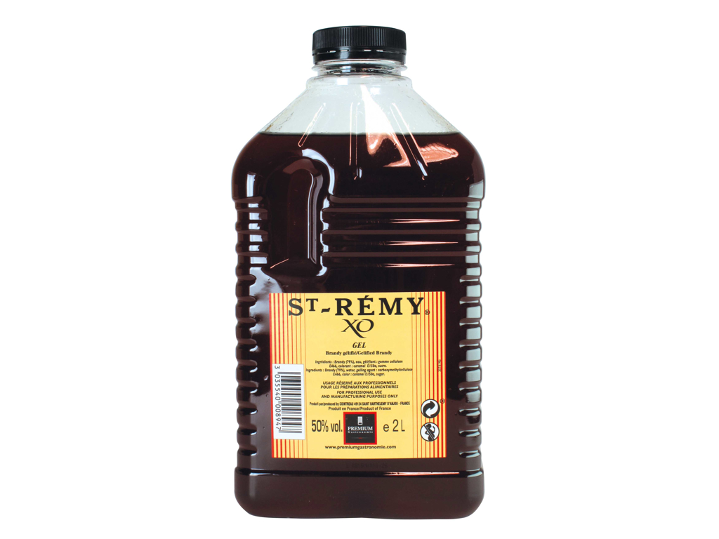 Brandy st. Remy geleficeret 50% Vol. á 2 liter