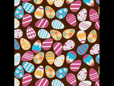 Chokoladefolie Påskeæg Multifarvet