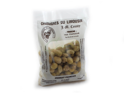 Frosne Kastanjer hele u/skal 1 kg