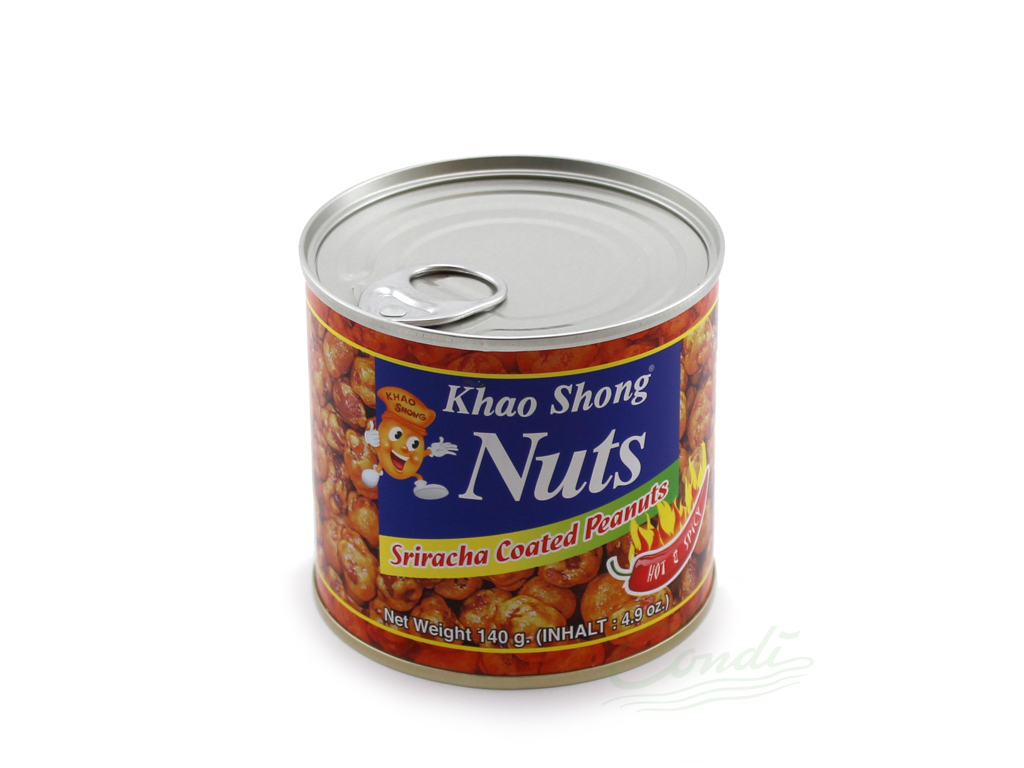 Khao Sh. Sriracha Peanuts 140g