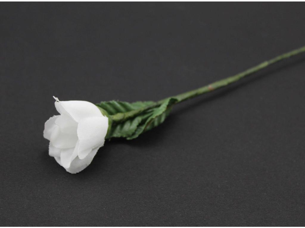 Rosebuket x 12 hvid