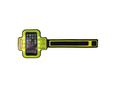 """WOWOW Smartphone Band 3.0 - Løbearmbånd med LED - Til Smartphone max 4,7"""" skærm"""""""