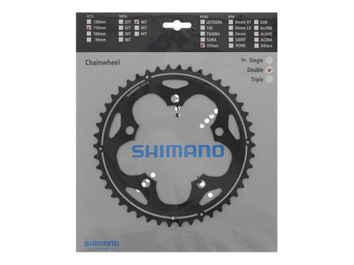 Chainring 46T-G Blk Cyclocross