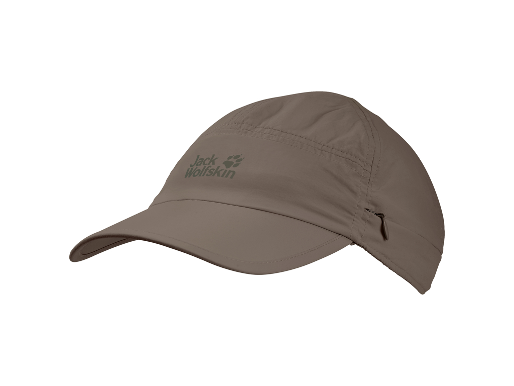 Jack Wolfskin Supplex Canyon Cap - Unisex Str. M - Siltstone thumbnail