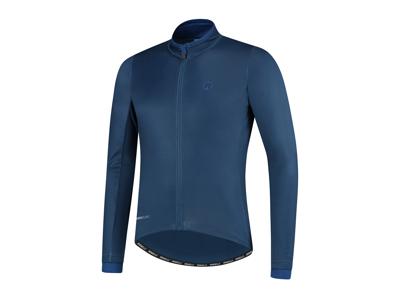 Rogelli Essential - Cykeltrøje - Lange ærmer - Blå