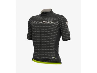 Alé Green Road PRR - Cykeltrøje m. korte ærmer - Sort/grå