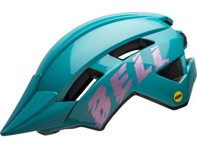 Bell Sidetrack II Junior Mips - Cykelhjelm - Lysblå/Pink - Str. 50-57 cm