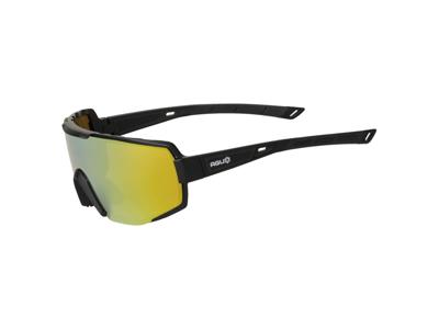 AGU - Sport- och cykelglasögon - svart / guld