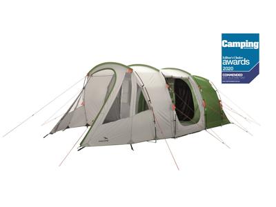 Easy Camp Palmdale 500 Lux - Telt Med 2 Kabiner - 5 Personer - Grøn/Hvid