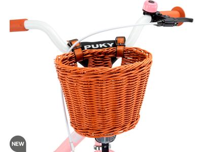 """Puky - Chaos basket M - Fletkurv til løbecykler og 12"""" cykler - Brun"""