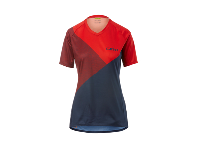 Giro Roust Women - Cykelblus med korta ärmar - MTB - Red Shadow