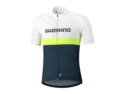 Shimano Team - Cykeltrøje med korte ærmer