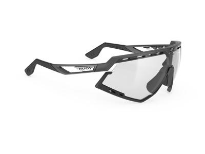 Rudy Project Defender - Løbe- og cykelbrille - Fotokromisk sort - Graphene sort