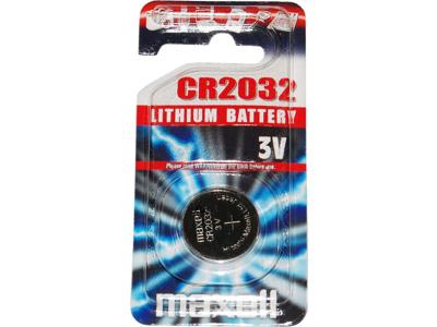 Maxell - Batteri - CR2032 Lithium 3v - 1 stk