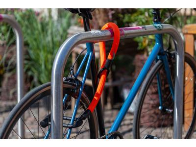 Texlock Eyelet X-LOCK - Cykellås - Tekstillås - Sort - 80 cm.