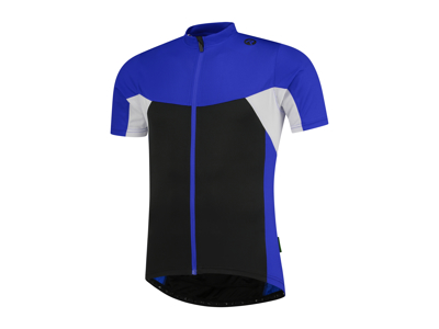Rogelli Recco 2.0 - Cykeltröja - Korta ärmar - Svart / Blå / Vit